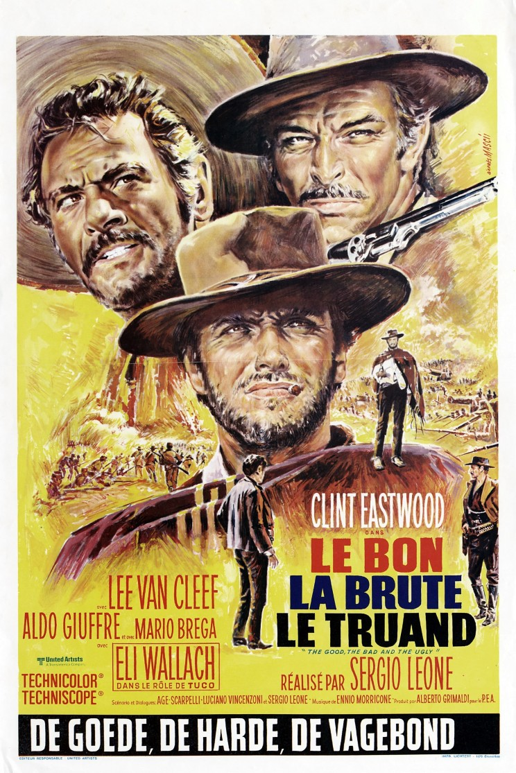 "Poster for the movie ""The Good The Bad and The Ugly"""
