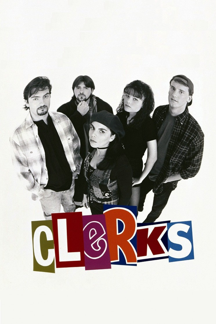 "Poster for the movie ""Clerks"""