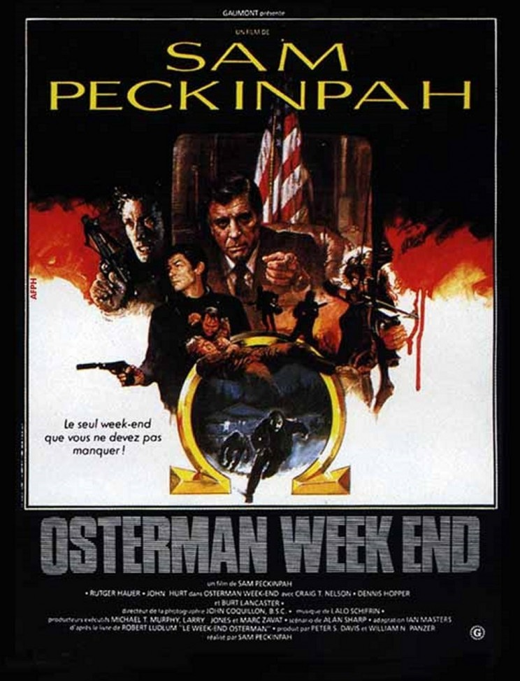 "Poster for the movie ""The Osterman Weekend"""