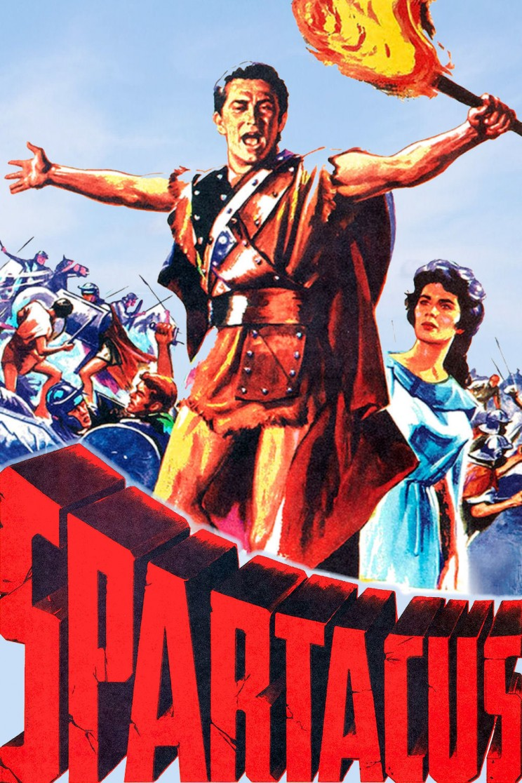 "Poster for the movie ""Spartacus"""