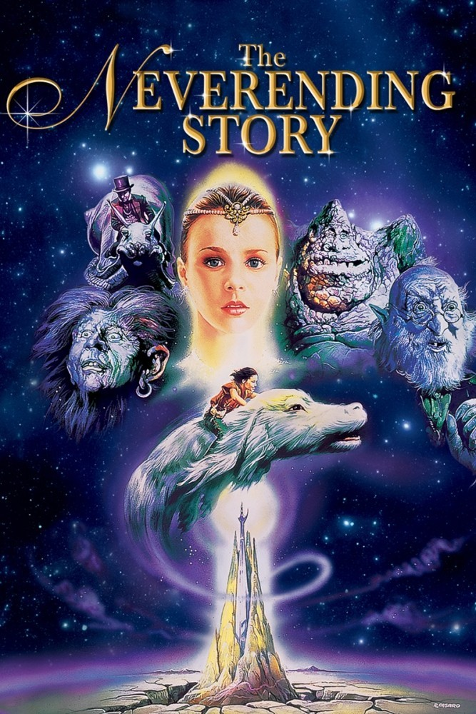 "Poster for the movie ""The NeverEnding Story"""